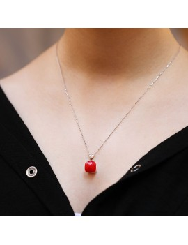 POMELLATO RED NECKLESS
